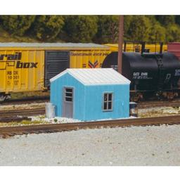 Click here to learn more about the Rix Products HO KIT RR Yard Office Building.