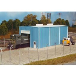 Click here to learn more about the Rix Products HO KIT Modern Engine House, Small.