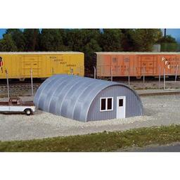Click here to learn more about the Rix Products HO KIT Quonset Hut.
