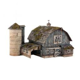 Click here to learn more about the Woodland Scenics HO KIT Rustic Barn.