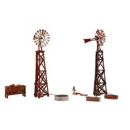 Click here to learn more about the Woodland Scenics HO KIT Windmills.