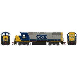 Click here to learn more about the Athearn HO GP38-2, CSX/YN2 #2540.