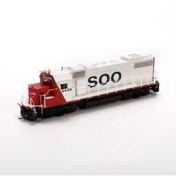 Click here to learn more about the Athearn HO GP38-2 w/DCC & Sound, SOO #4436.