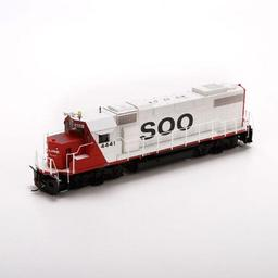 Click here to learn more about the Athearn HO GP38-2 w/DCC & Sound, SOO #4441.