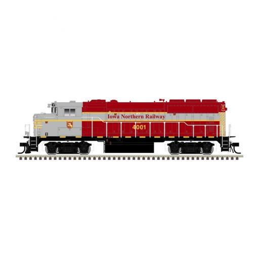 Atlas Model Railroad HO GP40-2W w/DCC & Sound, IANR #4003