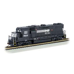 Click here to learn more about the Bachmann Industries HO GP38-2 w/DCC, NS.
