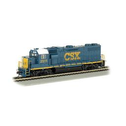 Click here to learn more about the Bachmann Industries HO GP38-2 w/DCC, CSX.