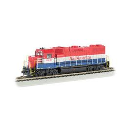 Click here to learn more about the Bachmann Industries HO GP38-2, Railamerica.