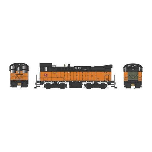 Bowser Manufacturing Co., Inc. HO DS 4-4-1000 w/DCC & Sound, MILW #946