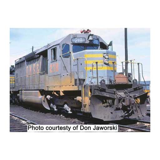 Bowser Manufacturing Co., Inc. HO SD40, QNSL/Gray/Orange/Yel Let #215