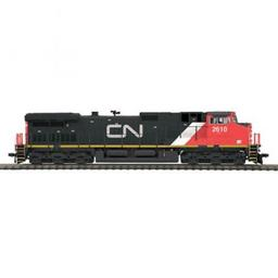 Click here to learn more about the M.T.H. Electric Trains HO Dash-9 w/NMRA, CN #2610.