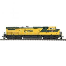Click here to learn more about the M.T.H. Electric Trains HO Dash-9 w/NMRA, C&NW #8727.