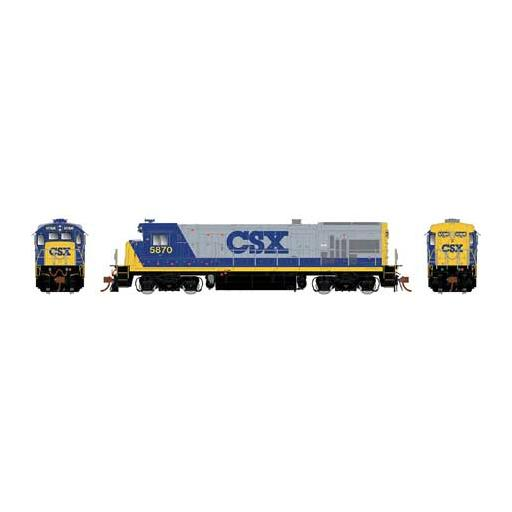 Rapido Trains Inc. HO GE B36-7 w/DCC & Sound, CSX/YN2 #5895