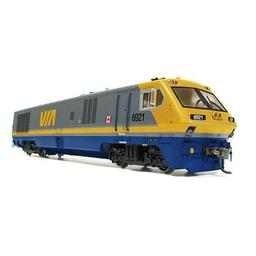Click here to learn more about the Rapido Trains Inc. HO LRC w/DCC & Sound, VIA #6921.