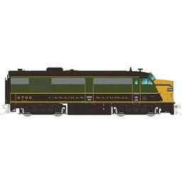 Click here to learn more about the Rapido Trains Inc. HO FPA4 w/DCC & Sound, CN/1954 #6760.