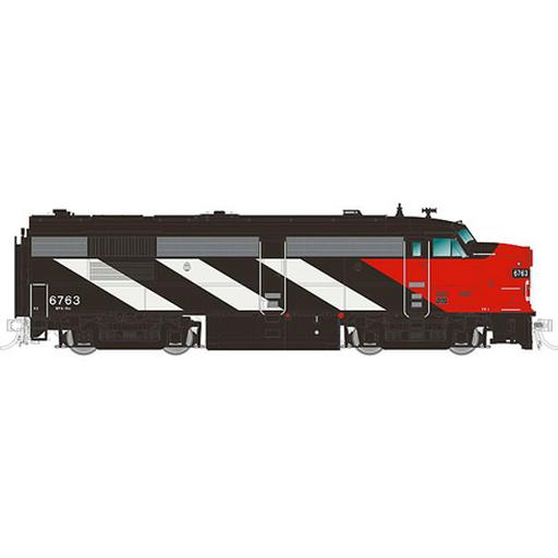 Rapido Trains Inc. HO FPA4 w/DCC & Sound, CN/Noodle #6763