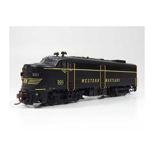 Rapido Trains Inc. HO FA2 w/DCC & Sound, WM #303