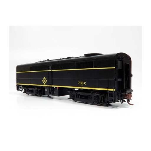 Rapido Trains Inc. HO FB2, ERIE #738-C