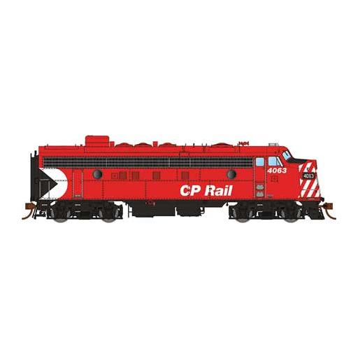 "Rapido Trains Inc. HO FP7, CPR/Red/8""Stripes #4063"