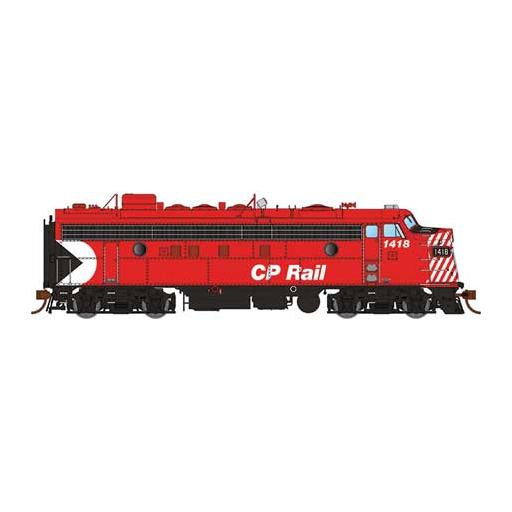 "Rapido Trains Inc. HO FP7 w/DCC & Sound, CPR/Red/5""Stripes #4031"