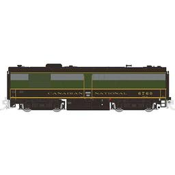 Click here to learn more about the Rapido Trains Inc. HO FPB4 w/DCC & Sound, CN/1954 #6860.