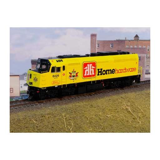 Rapido Trains Inc. HO F40PH-2D w/DCC & Sound, VIA #6429