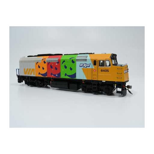 Rapido Trains Inc. HO F40PH-2D w/DCC & Sound, VIA #6405