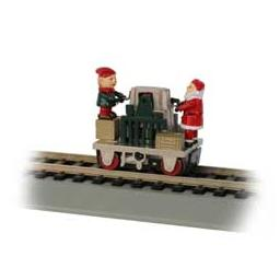Click here to learn more about the Bachmann Industries HO Operating Gandy Dancer, Christmas.