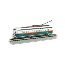 Click here to learn more about the Bachmann Industries HO Streetcar w/DCC &Sound Value, chicago.