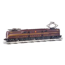 Click here to learn more about the Bachmann Industries HO GG1 w/DCC & Sound Value, PRR/Tuscan/5 Stripe.