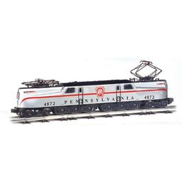 Click here to learn more about the Bachmann Industries HO GG1 w/DCC & Sound Value, PRR/Congressional/Slvr.
