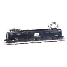 Click here to learn more about the Bachmann Industries HO GG1 w/DCC & Sound Value, PC/Black/Wh Lettering.