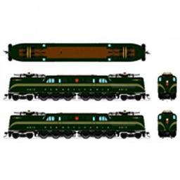 Click here to learn more about the Broadway Limited Imports HO GG1 w/DCC & Paragon 3, PRR #4840.