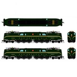 Click here to learn more about the Broadway Limited Imports HO GG1 w/DCC & Paragon 3, PRR #4801.