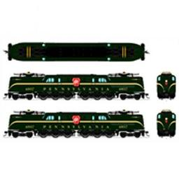 Click here to learn more about the Broadway Limited Imports HO GG1 w/DCC & Paragon 3, PRR #4807.