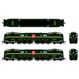 Click here to learn more about the Broadway Limited Imports HO GG1 w/DCC & Paragon 3, PRR #4821.