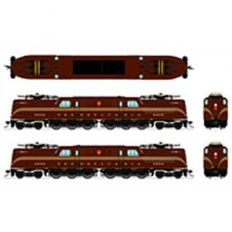 Click here to learn more about the Broadway Limited Imports HO GG1 w/DCC & Paragon 3, PRR #4857.