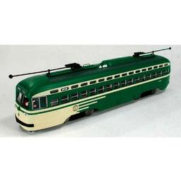 Click here to learn more about the Bowser Manufacturing Co., Inc. HO PCC Trolley, San Francisco/Wing #1050.
