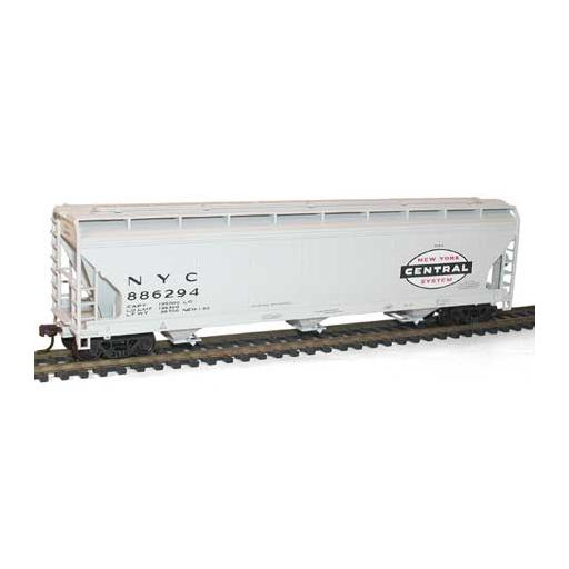 Accurail HO KIT ACF 3-Bay Covered Hopper, NYC