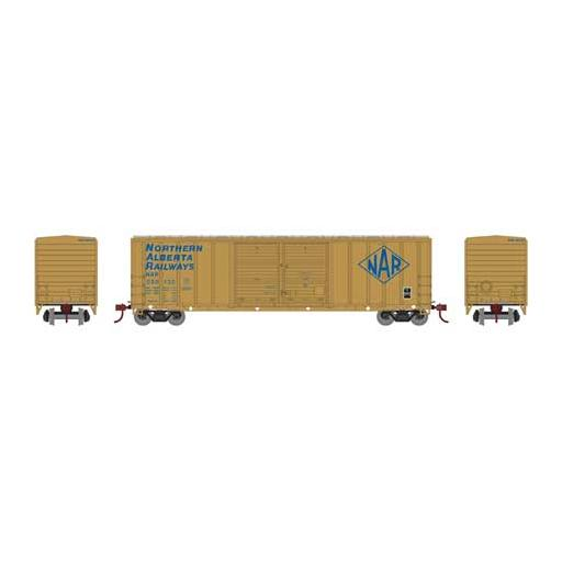 Athearn HO RTR 50'' FMC Double Door Box, NAR #050135