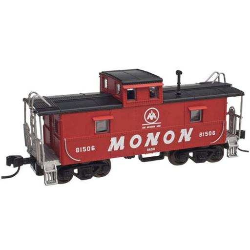 Atlas Model Railroad HO Trainman Cupola Caboose, Monon #81506