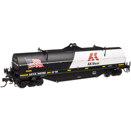 Atlas Model Railroad HO 42'' Coil Steel Car, AK Steel #160100