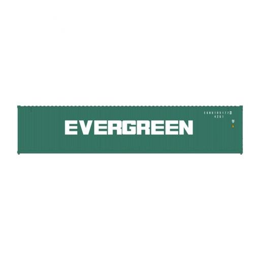 Atlas Model Railroad HO 40'' Standard Container, Evergreen Set #2 (3)