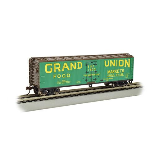 Bachmann Industries HO 40'' Wood Reefer, Grand Union