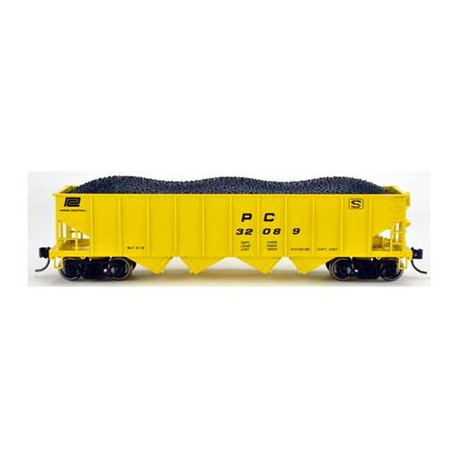 Bowser Manufacturing Co., Inc. HO H21a 4-Bay Hopper, PC/MOW #32094