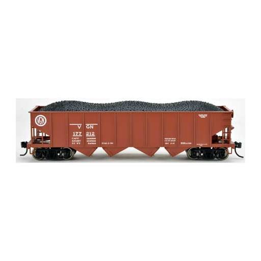 Bowser Manufacturing Co., Inc. HO H21a 4-Bay Hopper, VGN #177012