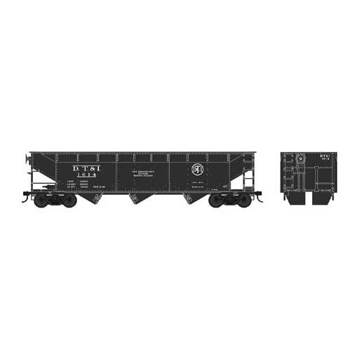 Bowser Manufacturing Co., Inc. HO 70-Ton Offset Hopper, DT&I #1614