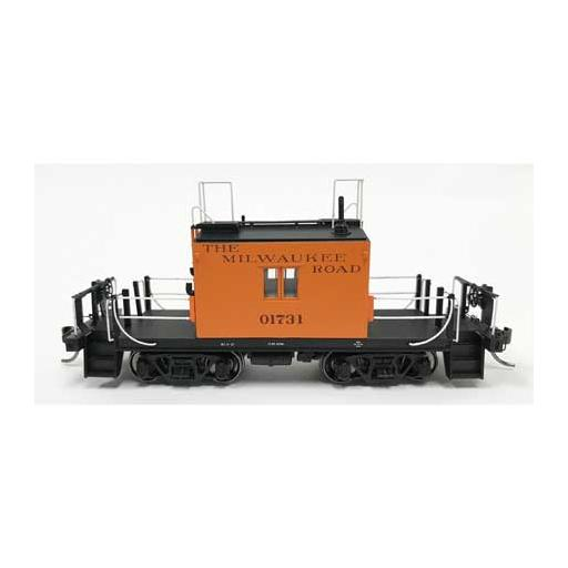 Fox Valley Models HO Transfer Caboose, MILW/Original/Maroon #01731