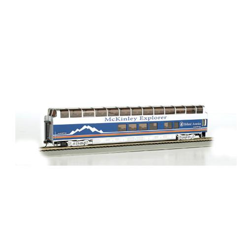 Bachmann Industries HO 89'' Dome, Denali Princess/Blackburn A Car