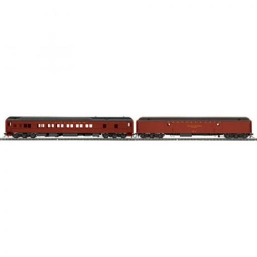 M.T.H. Electric Trains HO Heavyweight Baggage/Sleeper, PRR